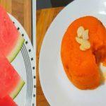 Watermelon Halwa Recipe    Watermelon RInd Halwa    Easy dessert recipes  పుచ్చకాయ  చెక్కు తో హల్వా