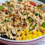 Grilled chicken Salad Recipe with Eidis special eggless mayonnaise dressing