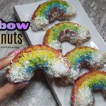Fun & Colorful Rainbow Donuts Recipe | Easy Recipes