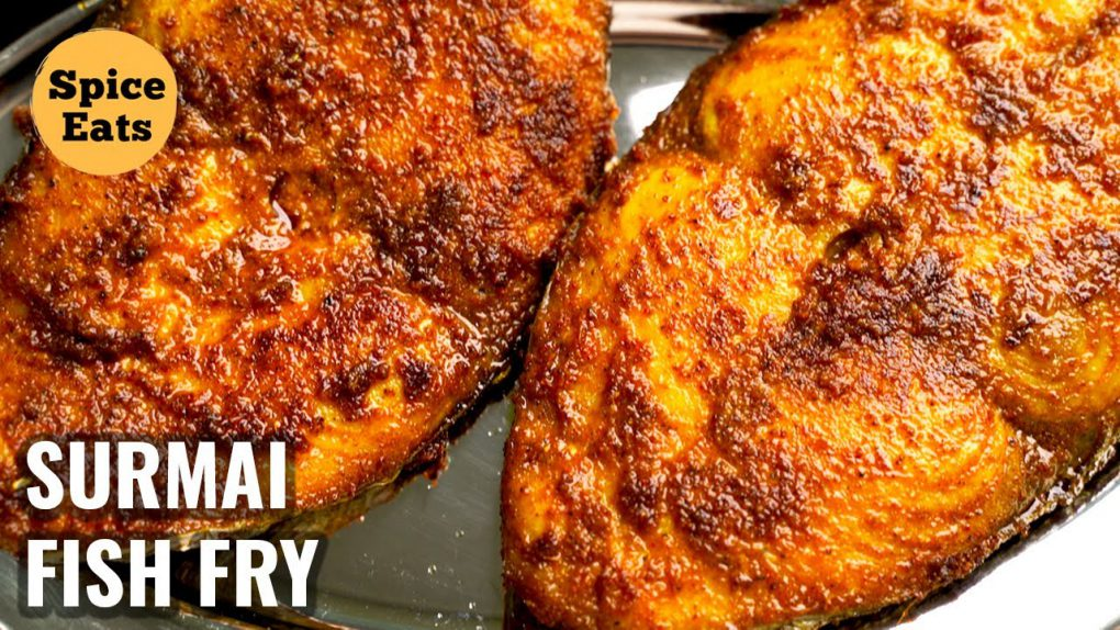 FISH FRY – SURMAI FISH RECIPE | EASY FISH FRY RECIPE | MASALA FISH FRY