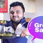 Veg Green Salad Recipe ● Protein Salad ● Weight Loss Salad ● Pawan Sharma Vlogs