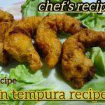 prawns tempura recipe in very low budget / prawn tempura platters recipe |chef's recipe|#sidhd