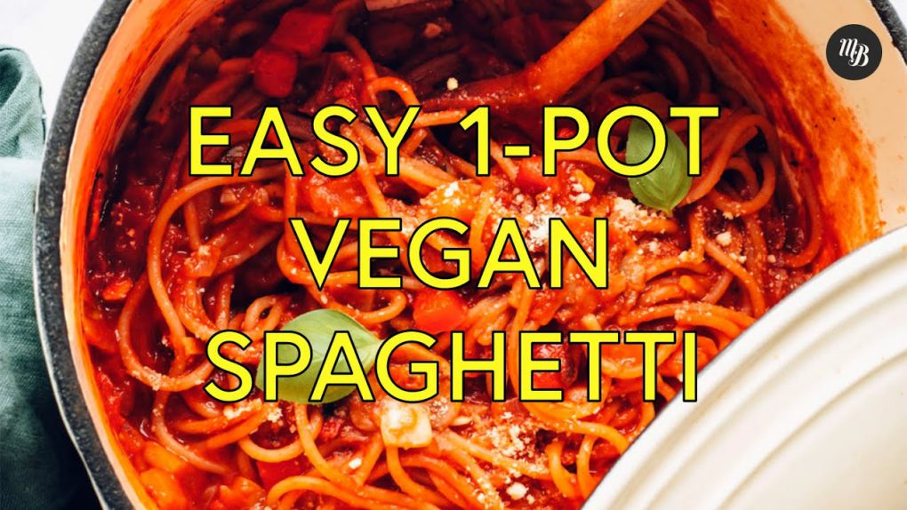 Easy 1-Pot Vegan Spaghetti (30 Minutes!) | Minimalist Baker Recipes