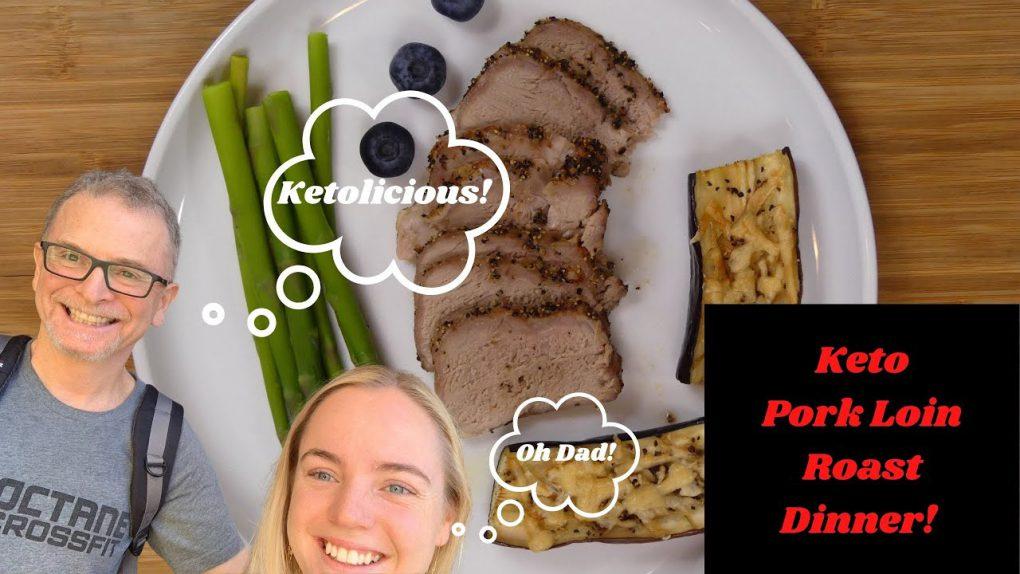 Keto Pork Loin Roast Dinner | Dr. Pete & T | Keto Recipes