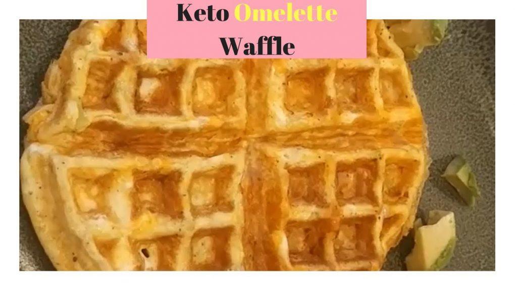 Easy Keto Recipes – Keto Omelette Waffle