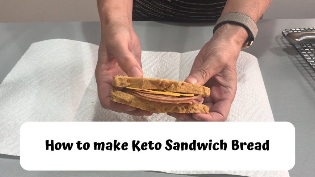 KETO Sandwich Bread (EASY KETO RECIPES)