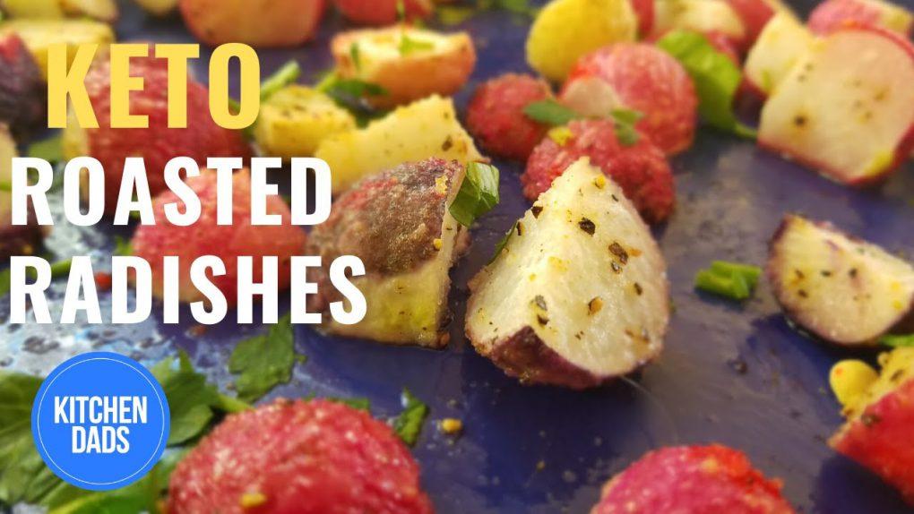 How to Roast Radishes Like Potatoes | Easy Keto Side Dishes  #Roasted Radishes #GreatJones