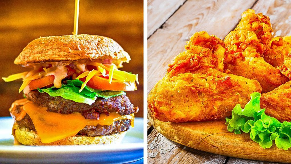 25 Fast Food Recipes to Cook In 5 Minutes || Delicious Burger And Pizza Hacks You Need to Try!