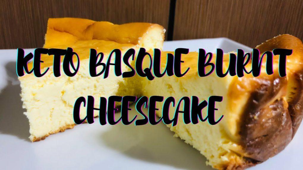 5 Ingredient Keto Basque Burnt Cheesecake | Easy Keto / Lowcarb Cheesecake Recipe
