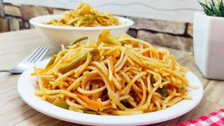 Simple Vegetable Noodles Recipe | How to Make Veg Noodles | Restaurant Style Veg Noodles |Ep:108