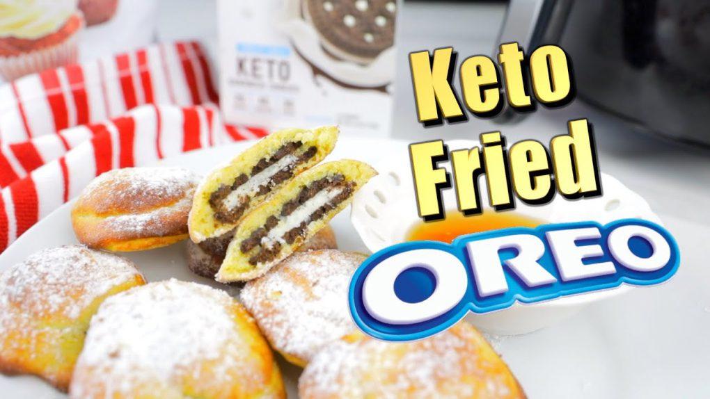 Keto Fried Oreos | Low Carb Cookie Recipe