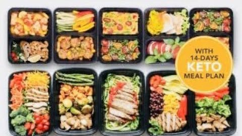 12 Simple Keto Meal Plan For The Week -Burn Fat and Lose Weight | Keto Recipes | Low Carb Super Comp