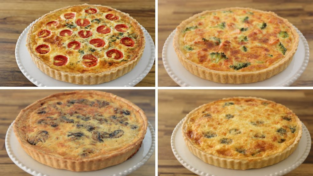 How to Make a Quiche – 4 Easy Recipes