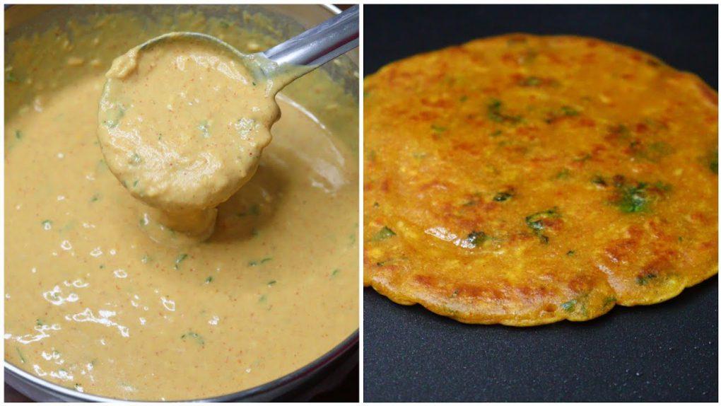 No Dough Paratha Recipe | Trending Garlic Masala Paratha | No Knead No Rolling Paratha