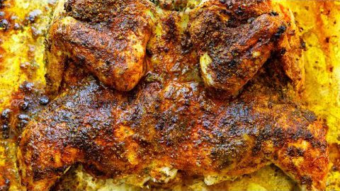 PERFECT CARIBBEAN ROASTED CHICKEN RECIPE | OVEN OR GRILL
