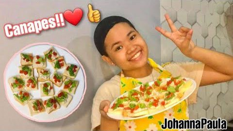 "HOW TO MAKE A ""CANAPES"" APPETIZER TLE PROJECT//Johanna Paula//"
