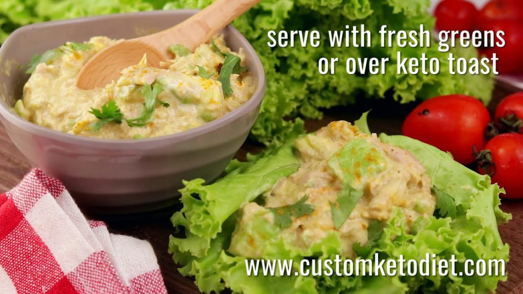 10 Keto Recipes  Keto Curry Spiked Tuna and Avocado Salad