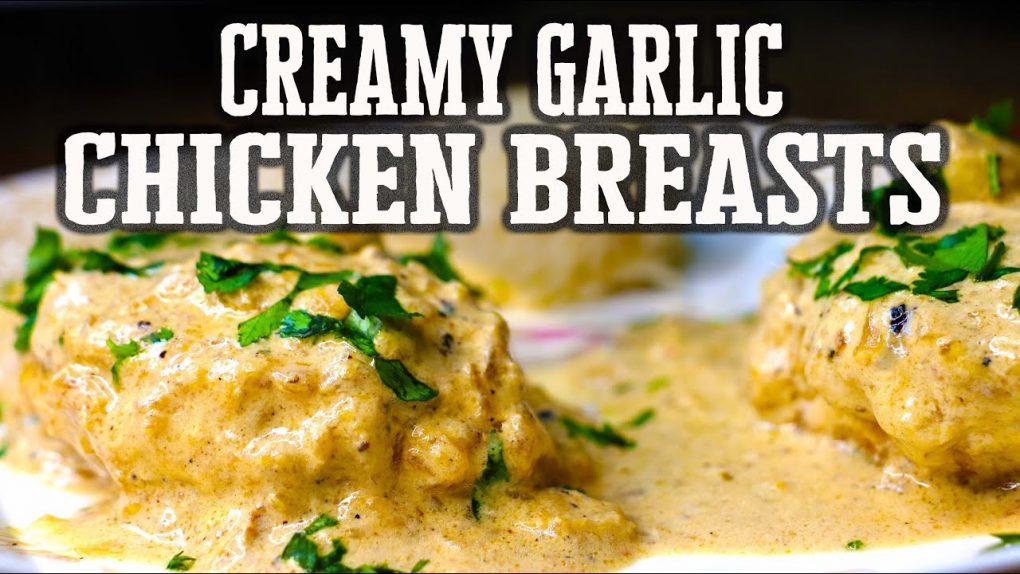 Creamy Garlic Chicken Breasts recipe | Main Course Chicken recipe by Your Food Story