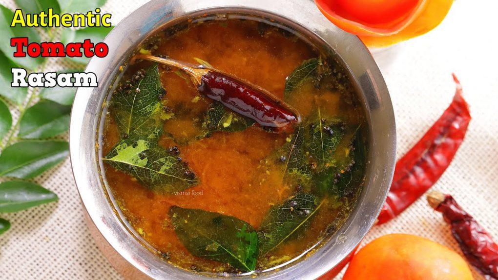 టమాటో రసం| easy tomato rasam recipe | How to make tomato rasam telugu| Tomato rasam by vismai food