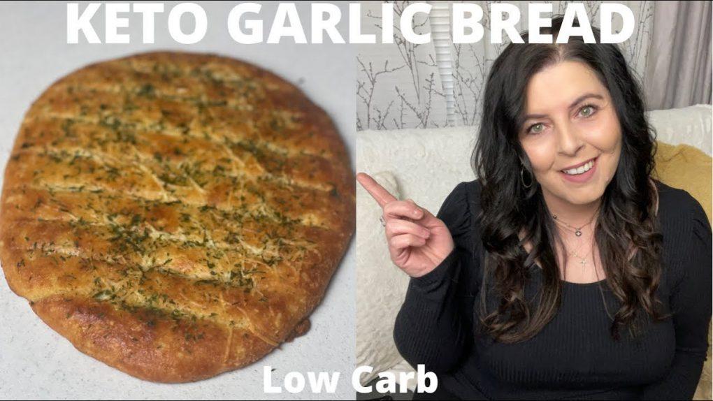 KETO GARLIC BREAD – Low Carb Garlic Bread – Easy And Quick Recipe – Bread Lovers