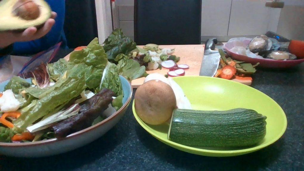 homemade salad recipe part 1