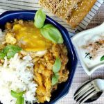 Smoky eggplant and tomato recipe;Dip & Main dish; Vegan; Vegetarian; میرزاقاسمی اصل با بادمجون خارجی