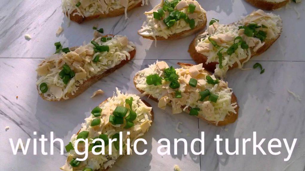 Appetizers: Garlic Bread Recipe