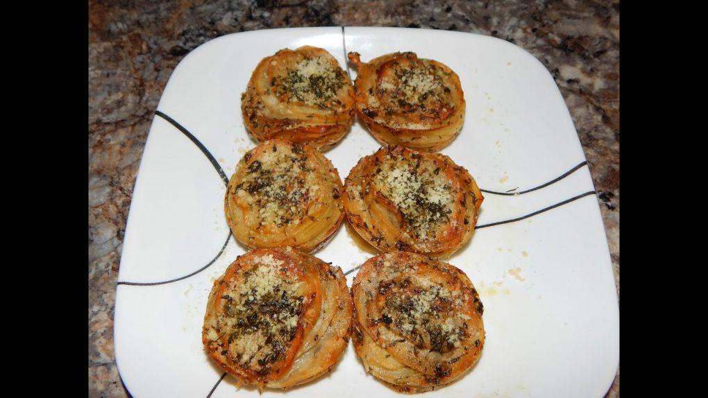 Parmesan Potato Stacks Recipe – Potato Appetizer