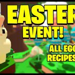 *EASTER EVENT* All Egg Recipes! Crafting Added! – Bee Sim