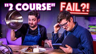 TWO COURSE MEAL Recipe Relay Challenge (Normals only!!) | Pass it On S2 E20 | SORTEDfood
