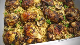 The ultimate Oven Baked Chicken and Rice | Baked chicken recipe