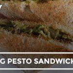 How To Make Veg Pesto Sandwich | Easy Veg Pesto Sandwich Recipe Video