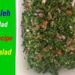 Arabic Tabbouleh Salad Recipe by Punjabi handi