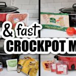 4 THROW & GO CROCKPOT MEALS | CHEAP SLOW COOKER MEALS | WHAT'S FOR DINNER WITH FRUGAL FIT MOM