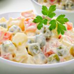Russian Salad Recipe | Healthy Russian Salad Recipes | Russian Veggies Salad | Live Food