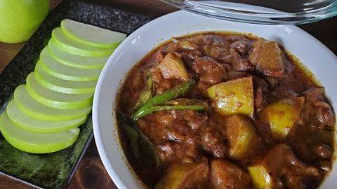 Green Apple Curry || Vegetarian recipe || Curry recipe ||