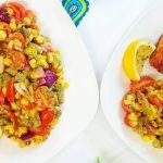 Avocado & Corn Salad | Salad recipes | sweet corn and avocado #youtubeshorts #shorts #shortsfired