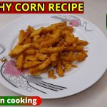 Crunchy Crispy Corn Snack Recipe/ Vegetarian Recipes