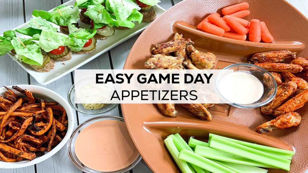 EASY Game Day Recipes | Healthy Appetizers