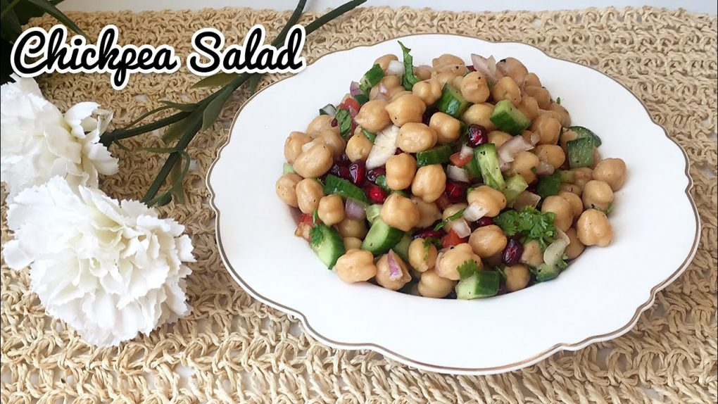 WEIGHT LOSS FOOD/CHICKPEA SALAD RECIPE/CHOLE SALAD RECIPE /HEALTHY FOOD/ SALADS RECIPE/DIET FOOD