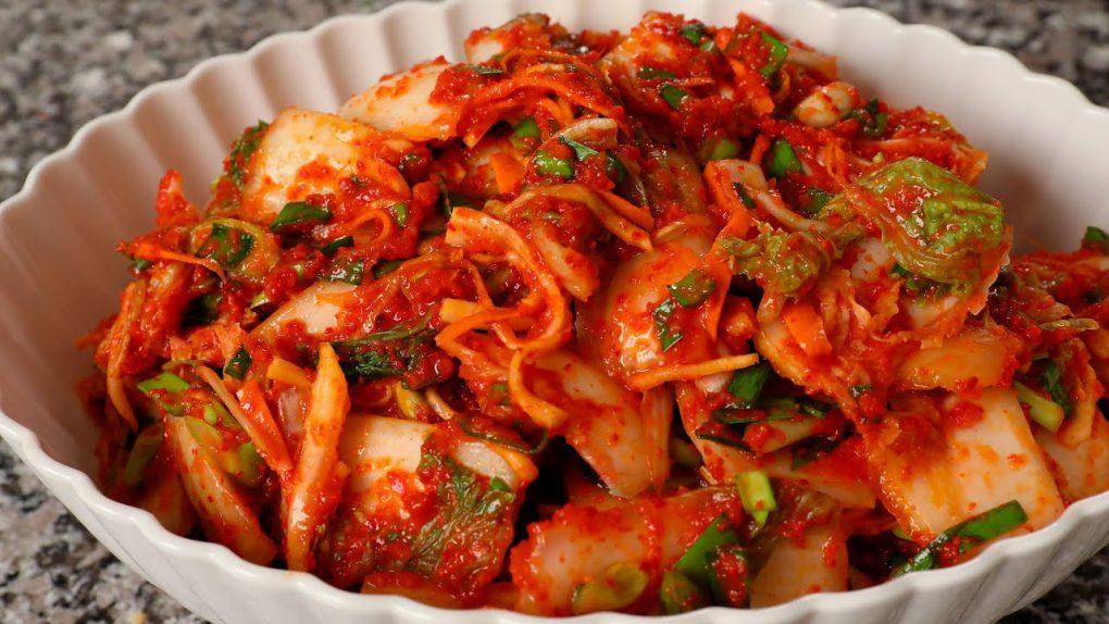 Kimchi (Vegetarian version)