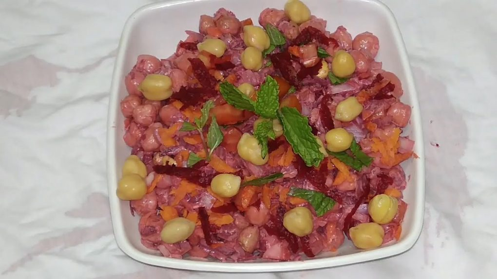 channa salad recipe in tamil/healthy salad/salad recipes for weight loss/Veg thaligai /
