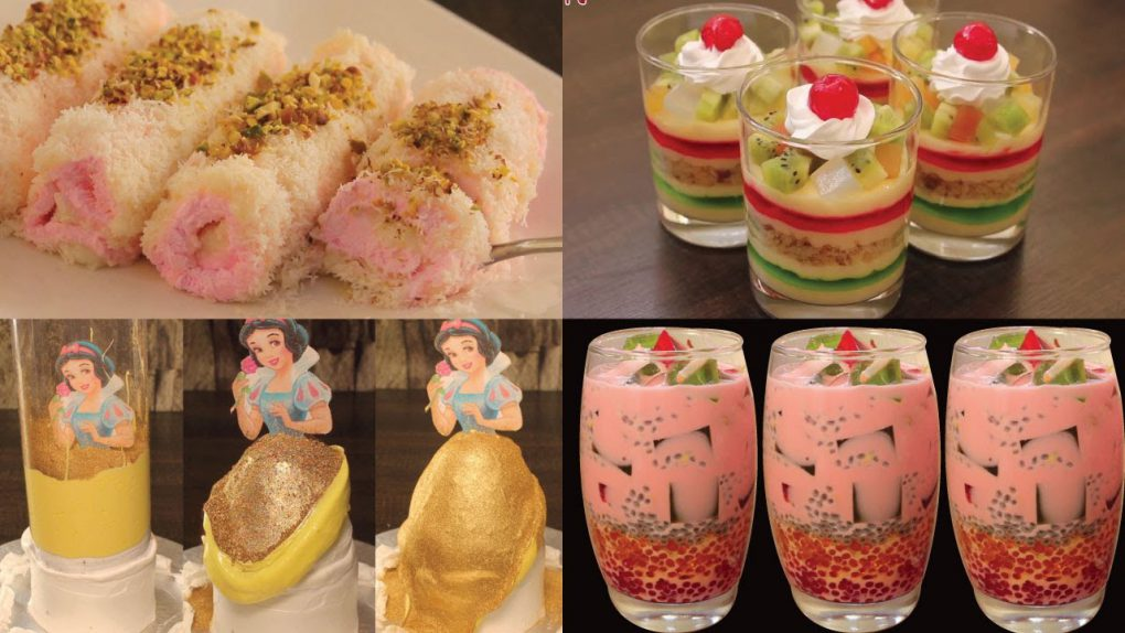 4 Mesmerizing Dessert | Best Dessert to impress someone | 4 Dessert Recipes