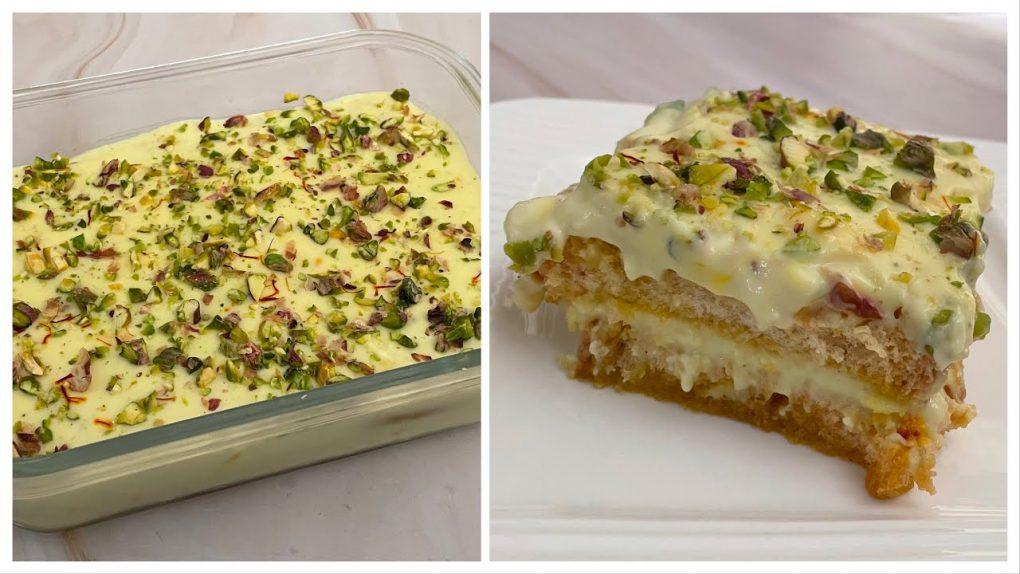 15 Minutes Dessert Recipe With 2 Cups Of Milk | Instant Malai Cake |15 मिनट मे बहुत स्वादिष्ट मिठाई