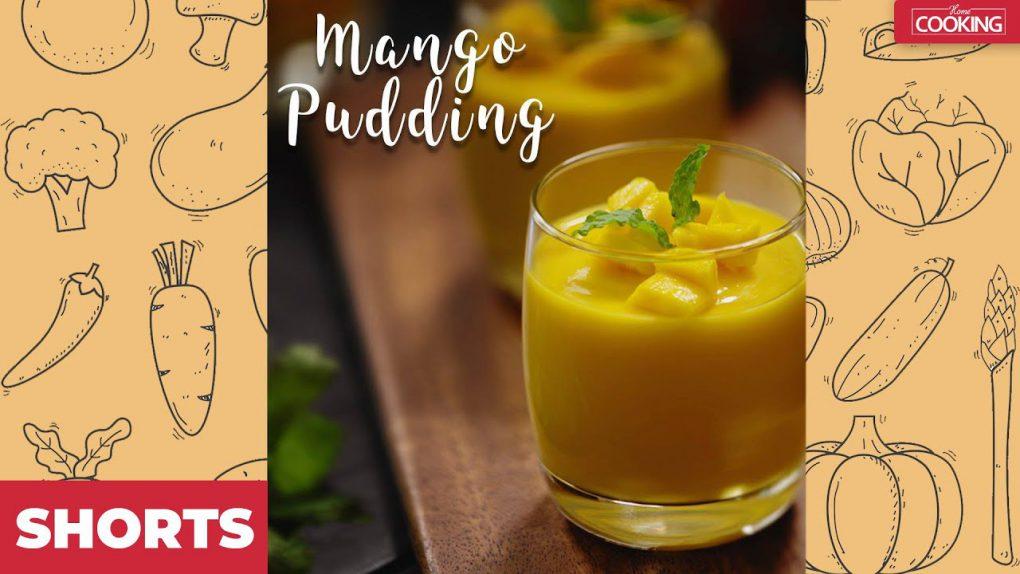 Mango Pudding | Mango Recipes | Summer drinks | Easy & Healthy Dessert Recipes | #shorts