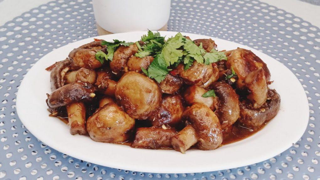 Mushrooms butter garlic/healthy mushrooms recipe/mushrooms recipe/vegetarian mushrooms recipe