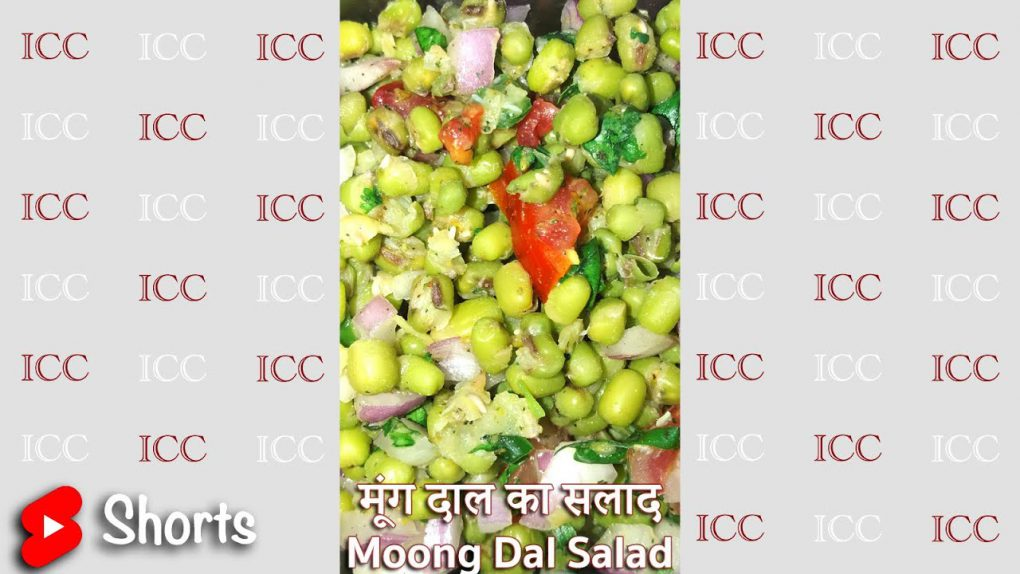 Weight loss – Moong Dal Salad Recipe #shorts