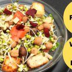 Sprout Salad Recipe   Protein Salad Recipe   Weight Loss Recipe   Healthy Breakfast Recipe  