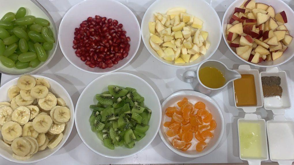 Fruit Chaat Recipe | Fresh Fruit Salad Recipe | #Shorts | Ramadan Special | Five In Kitchen