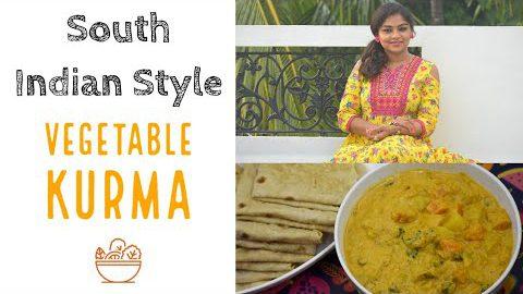 Vegetable Kurma | Tasty Bowl | Vegetarian Recipes